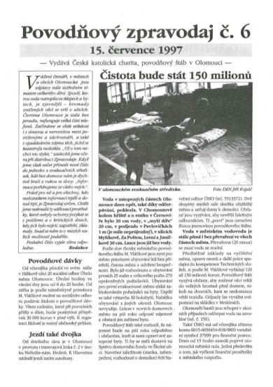 Povodňový zpravodaj č.6