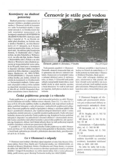 Povodňový zpravodaj č.3